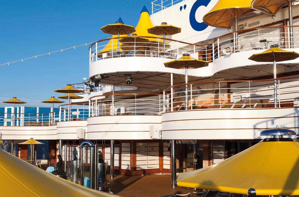 Merveilleuse Méditerranée en 5 jours au départ de Marseille à bord du Costa Favolosa