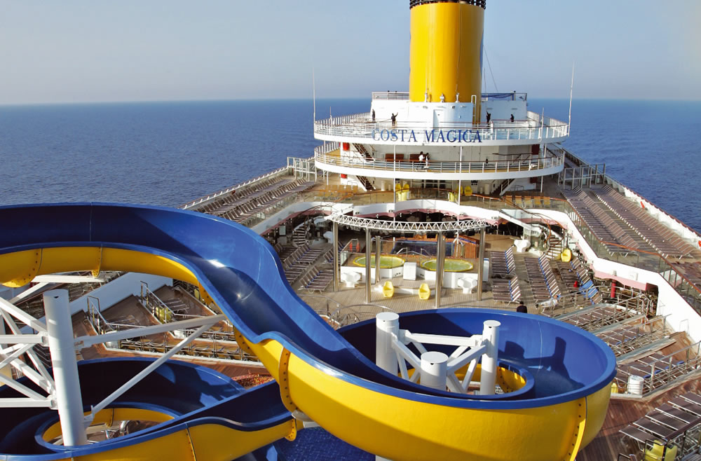 Caraïbes antilles 8 jours au départ de fort de france  à bord du Costa Magica