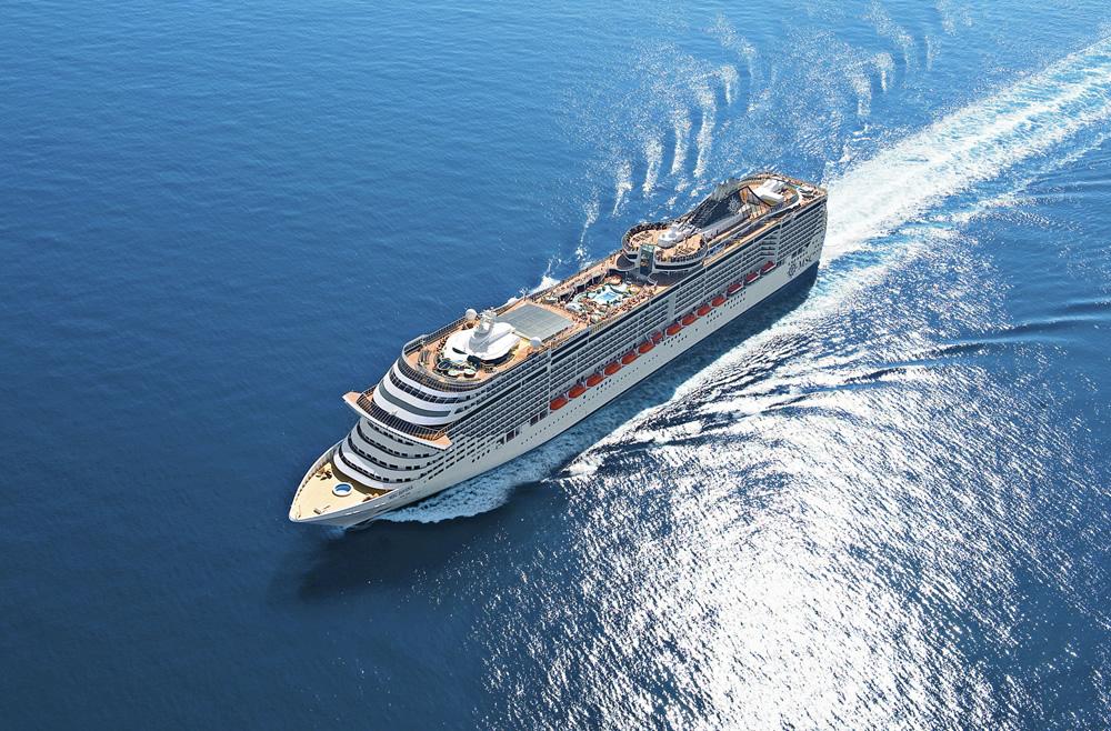 Merveilleuse Méditerranée en 4 jours au départ de Marseille à bord du MSC Divina