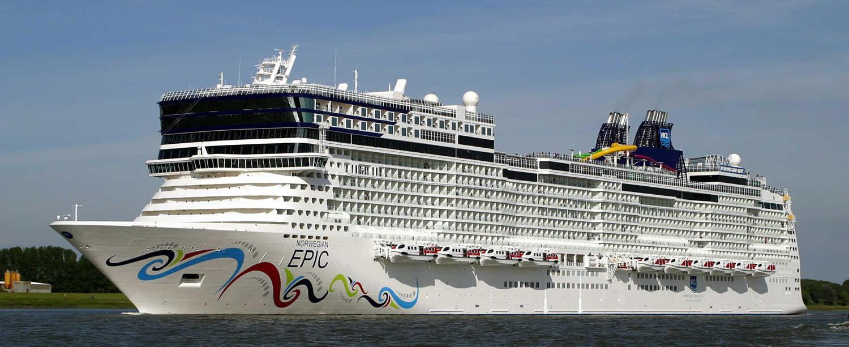 Les caraïbes en 8 jours au départ du Port Canaveral à bord du Norwegian Epic