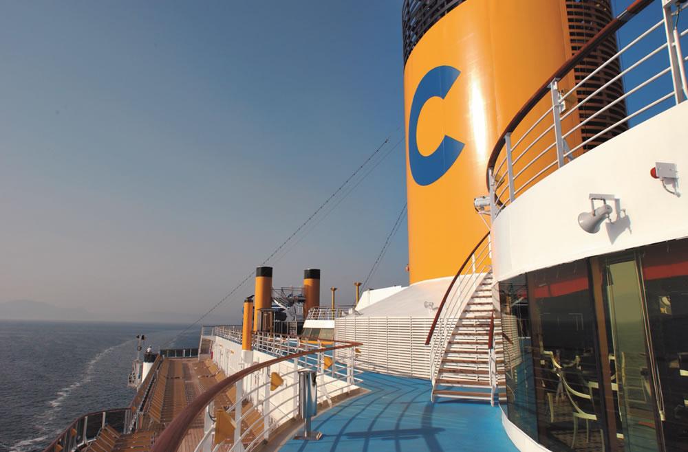 Merveilleuse Méditerranéee en 6 Jours au départ de Marseille à bord du Costa Mediterranea