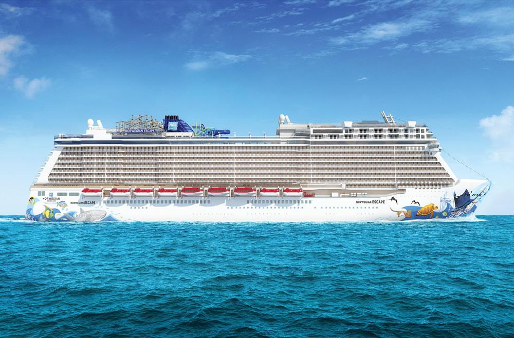 Les Caraïbes  en 8 jours au Départ de Miami à Bord du Norwegian Escape