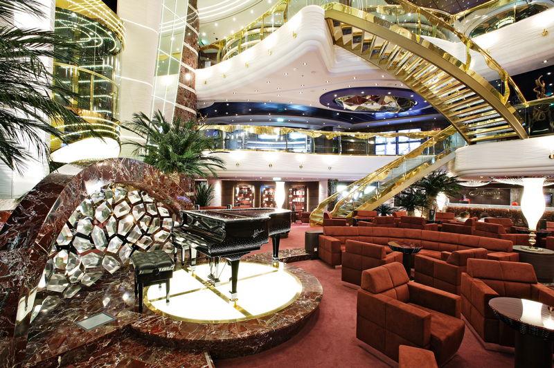 Repositionnement en 29 jours au départ de Dubaï à bord du MSC Splendida